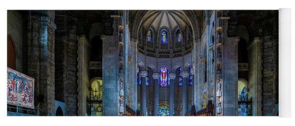 Yoga Mat featuring the photograph Cathedral Of Saint John The Divine by Chris Lord