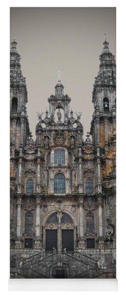 Cathedral Of Santiago De Compostela Yoga Mat