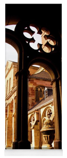 Cathedral Of Trier Window Yoga Mat