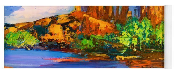 Cathedral Rock Afternoon Yoga Mat