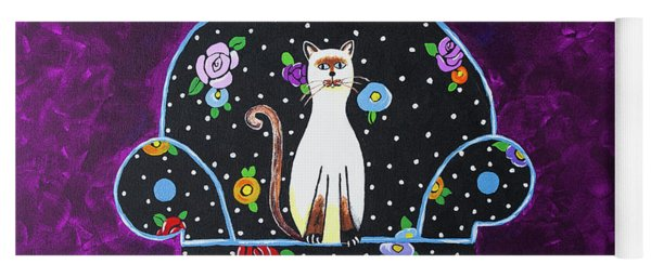 Cats Just Wanna Have Fun Yoga Mat