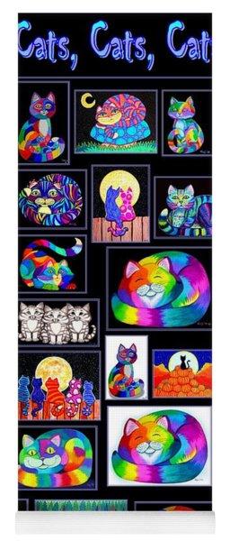 Catscatscats Yoga Mat