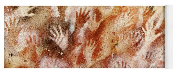 Cave Of The Hands - Cueva De Las Manos Yoga Mat