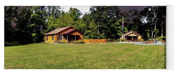 Cayuga Cabin Summer Yoga Mat