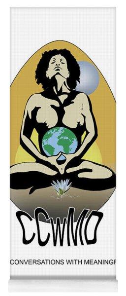 Ccwmd Yoni Whit Background Yoga Mat