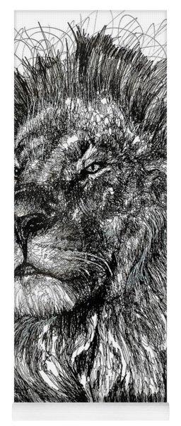 Cecil The Lion Yoga Mat