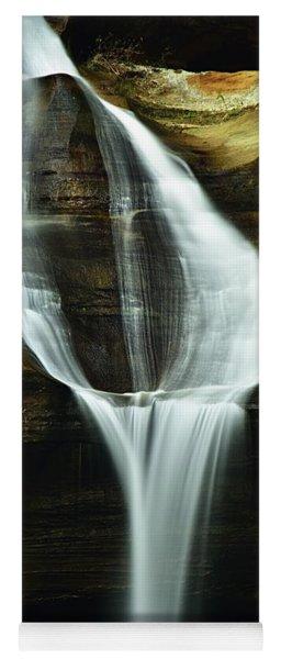 Cedar Falls Closeup Yoga Mat
