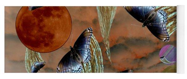 Celestial Butterflies Yoga Mat