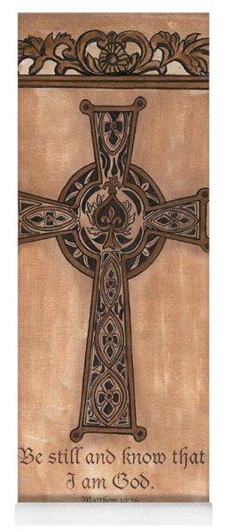 Celtic Cross Yoga Mat