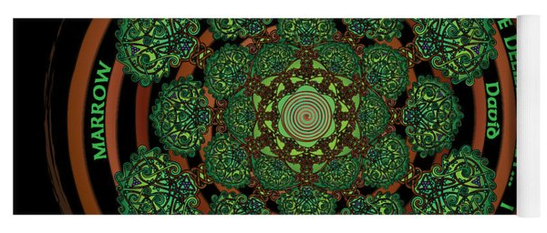Celtic Tree Of Life Mandala Yoga Mat
