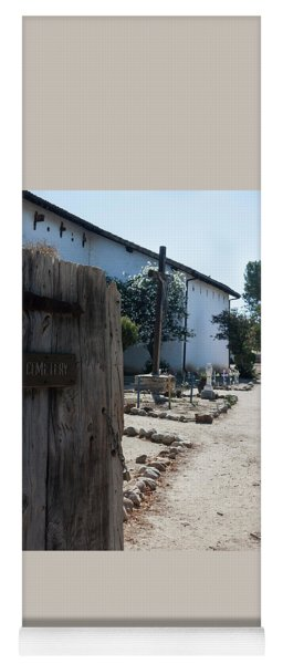 Cemetery At San Miguel Mission Yoga Mat