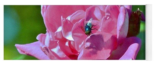 Cemetery Rose Yoga Mat