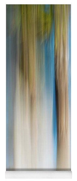 Center Panel Movign Trees 13 Yoga Mat