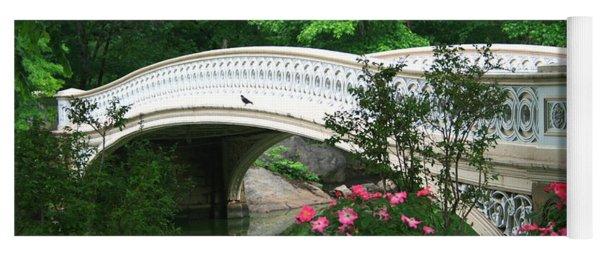 Central Park Bow Bridge In Spring Yoga Mat