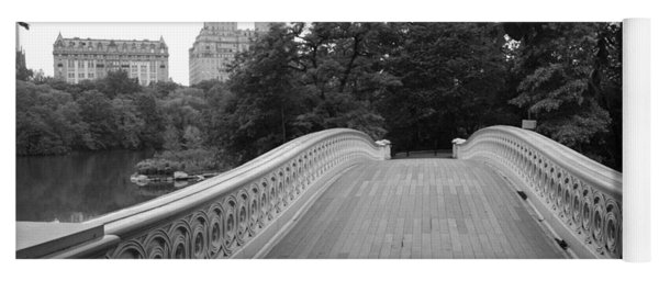 Central Park Bow Bridge With The San Remo Yoga Mat