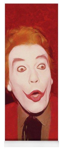 Cesar Romero The Joker Yoga Mat