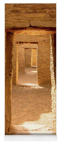 Chaco Ancient Doors   Yoga Mat
