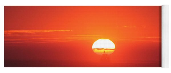 Challenging The Sun Yoga Mat