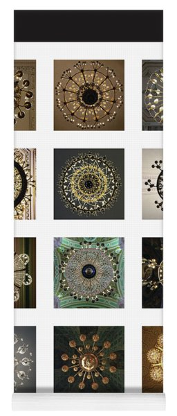 Collection Poster Chandeliers From Russia Yoga Mat