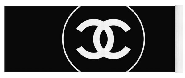 Chanel - Black And White 02 - Lifestyle And Fashion Yoga Mat