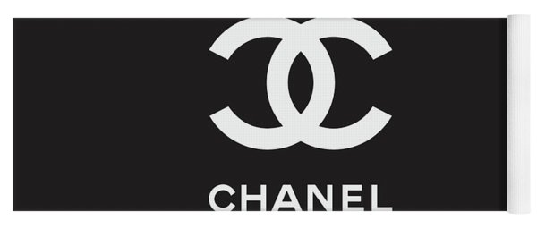 Chanel - Black And White 03 - Lifestyle And Fashion Yoga Mat