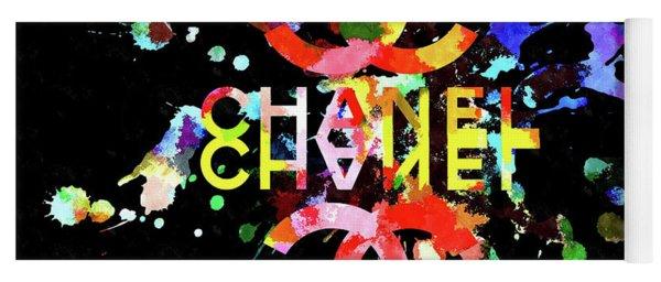 Chanel Blacky Black Yoga Mat
