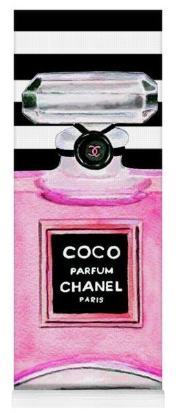 Chanel Pink Perfume 1 Yoga Mat