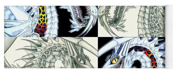 Chaos Dragon Fact Vs Fiction Yoga Mat