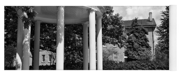 Chapel Hill Old Well In Black And White Yoga Mat