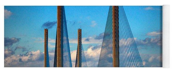 Charles W Cullen Bridge South Approach Yoga Mat
