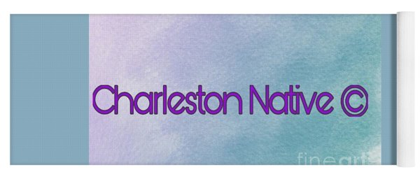 Charleston Native Text 1 Yoga Mat