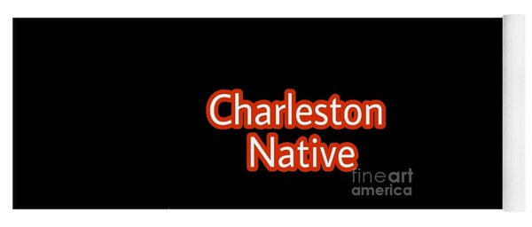 Charleston Native Text 2 Yoga Mat
