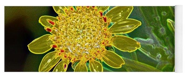 Charleston Neon Floral Yoga Mat