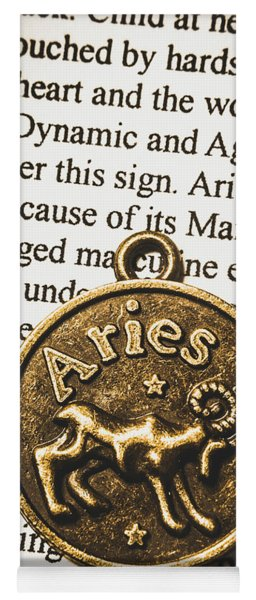 Charm Of Aries Yoga Mat