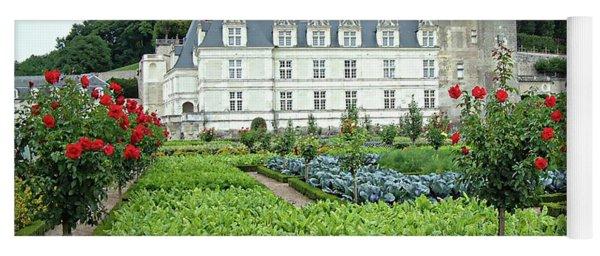 Chateau Villandry - Loire Valley, France Yoga Mat