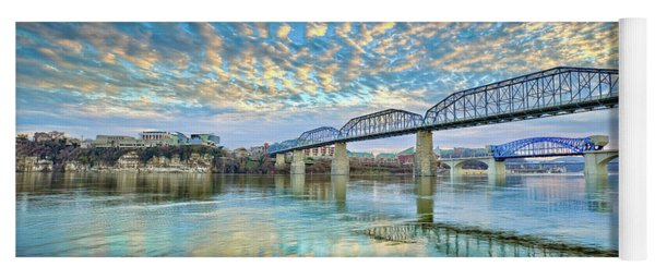 Chattanooga Has Crazy Clouds Yoga Mat