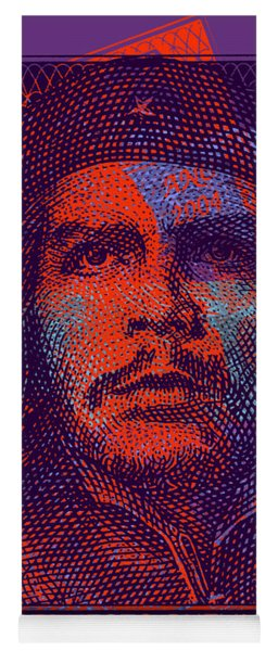 Che Guevara 3 Peso Cuban Bank Note - #3 Yoga Mat