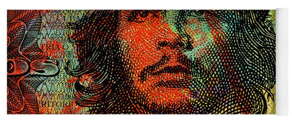 Che Guevara 3 Peso Cuban Bank Note - #1 Yoga Mat