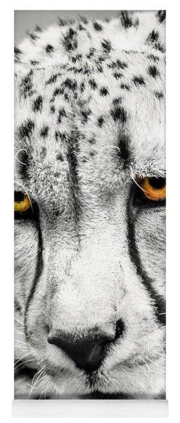 Cheetah Eyes Yoga Mat