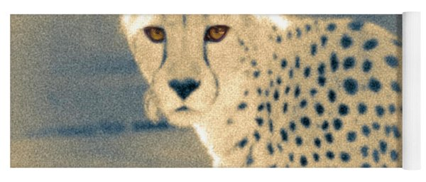 Cheetah Yoga Mat