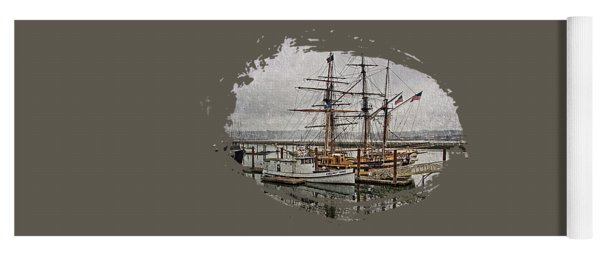 Chelsea Rose And Tall Ships Yoga Mat