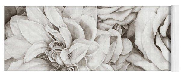 Chelsea's Bouquet - Neutral Yoga Mat