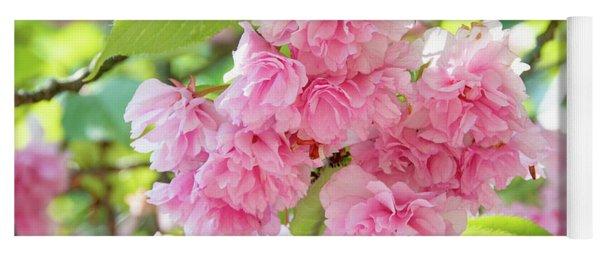 Cherry Blossom Cluster Yoga Mat
