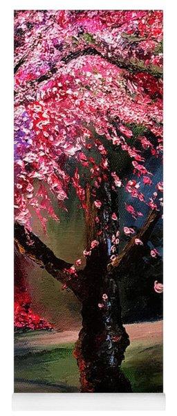 Cherry Blossom Festival Yoga Mat
