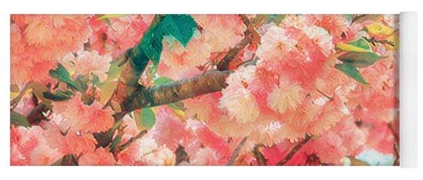 Cherry Blossom Time Yoga Mat