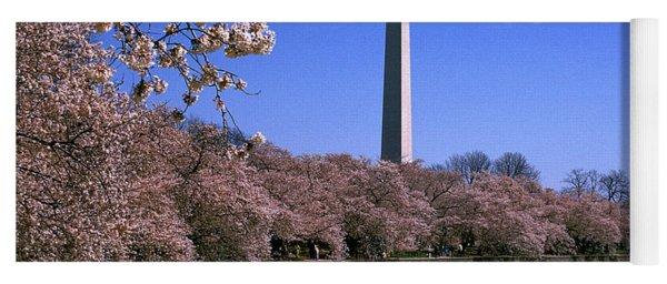 Cherry Blossoms On The Tidal Basin 15j Yoga Mat