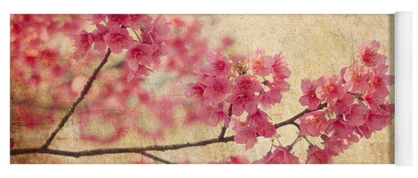 Cherry Blossoms Yoga Mat
