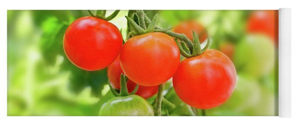 Cherry Tomatoes Yoga Mat