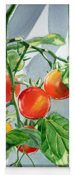 Cherry Tomatoes Yoga Mat