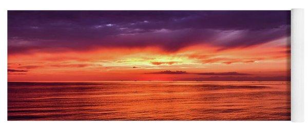 Chesapeake Bay Sunset Yoga Mat